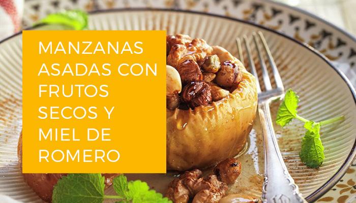 Imagen Manzana asada Es.
