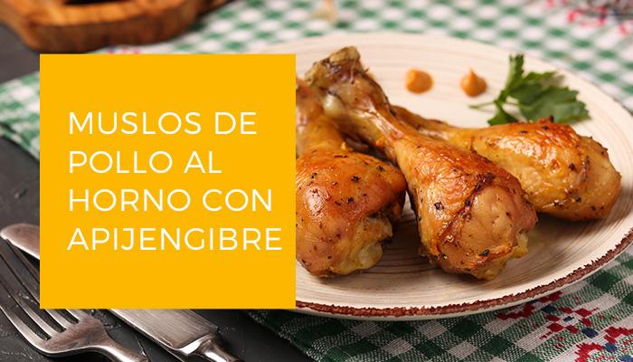 Imagen Pollo con ApiJengibre Es.