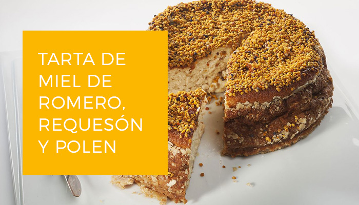 Imagen Tarta queso, miel y Polen Es.