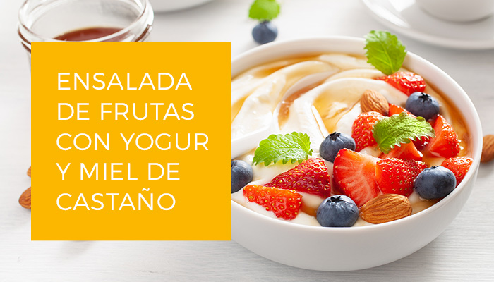Imagen Yogur frutas y miel Es.