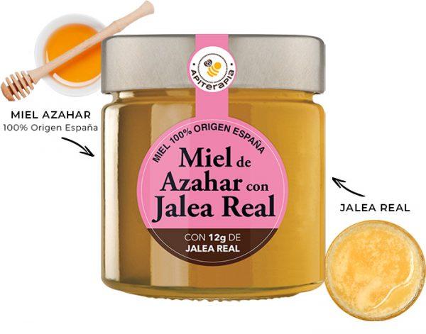 Miel de Azahar con Jalea Real Ficha Es.