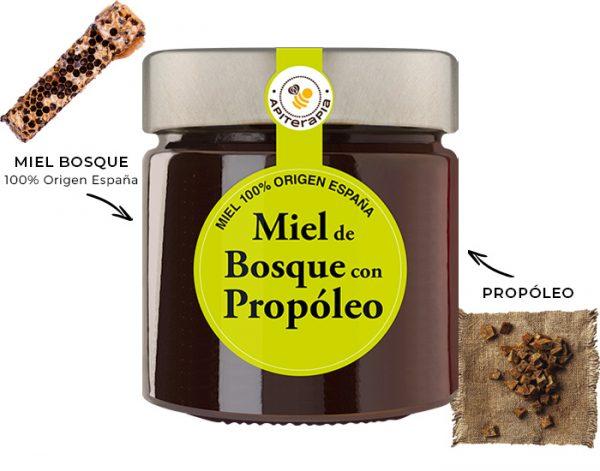 Miel de Bosque con Propoleo Ficha Es.
