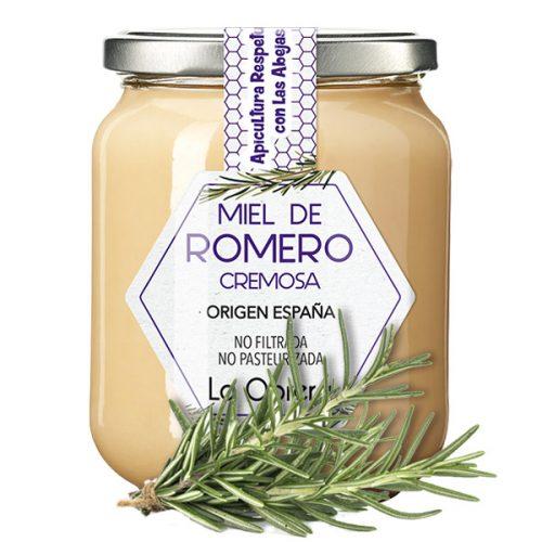 Miel de Romero Crema Ficha Es.